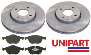 For Ford - Fiesta MK5 ST150 2005-2008 Front 278mm Brake Discs and Pads Unipart