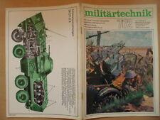 MILITÄRTECHNIK 7/1972 Schützenpanzerwagen SKOT-2 A UAW-Flugzeug Be-12 Tschaika
