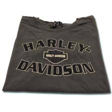 New Mens Harley Davidson Gray Grey T Shirt Bar & Shield Logo Graphic L Large NWT