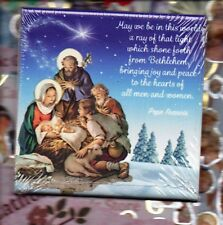 Nativity - wall art ceramic tile from Italy