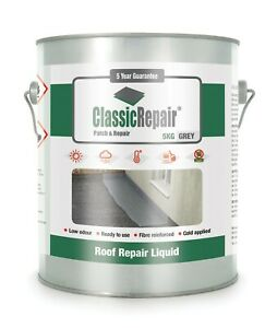 Classic-Repair Waterproof coating for Flat Roofs, Quick and easy Roof Repair