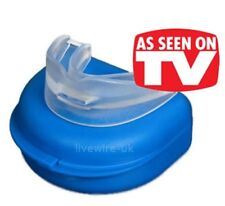 NHS PREMIUM SNORE RELIEF MOUTHPIECE - STOP SNORING AID - ANTI-SNORE SLEEP DEVICE