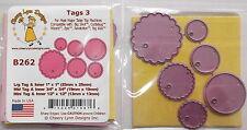 Cheery Lynn Design Die Cutter - Small tags ref: 3