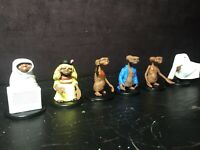 E.T. The Extra Terrestrial blind bag foil pack NECA wizkids Complete Set Of 6