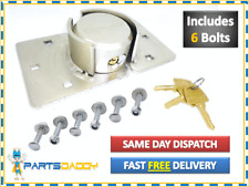 VAN HIGH SECURITY PADLOCK & HASP SET DOOR 73mm LOCK + NUTS BOLTS FIXINGS CT0001