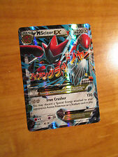NM MEGA Pokemon M SCIZOR EX Card BREAKPOINT Set 77/122 XY X and Y Ultra Rare TCG