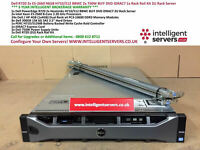 Dell PowerEdge R720 2x E5-2660 96GB H710/512 2x750W DVD iDRAC7 2.4TB SAS Server