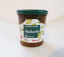 Rhabarber Konfitüre Marmelade 370g Glas 50% Frucht original aus Frankreich !