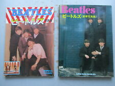 TWO Japanese Books On The Beatles - 1973 & Ca. 1984 Large Softbound