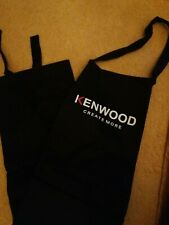 """NEW - KENWOOD """"Create More"""" - Adults Black Kitchen/Cooking APRON - Front Pocket"""