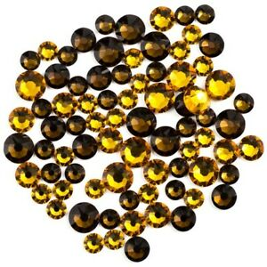 Create Your Style with Swarovski Elements Flat Back Combo 3mm 4mm 5mm Mix Topaz