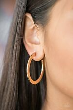 Earrings Women's Fashion Accessories New Paparazzi Gold Hoop