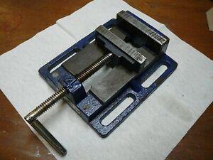 "WILTON Drill press, Milling Machine Vise, 4"" ,Fixed serrated jaws."