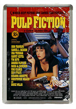 Pulp Fiction Film Poster  (Distressed) Fridge Magnet - Jumbo Size 90mm x 60mm