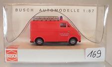 Busch 1/87 40909 DKW 3=6 Kasten Feuerwehr Feuchtwangen OVP #169