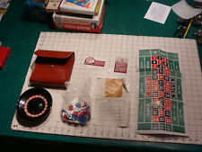 vintage ---traveling ROULETTE SET in bag, JOSE GAMES made in USA