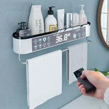 Wall Mounted Storage Racks 450g PC Towel Bath Shelves Corner Shower Organizers
