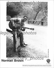 Norman Brown Warner Brother Records Original Press Photo