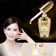 24K Gold Anti Wrinkle Moisturizing Essence Oil Face Cream Liquid Make up 30ml