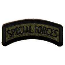 Embroidered Small Special Forces Sew or Iron on Patch Biker Patch