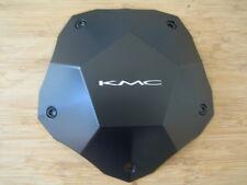 KMC 674 Clone Matte Flat Black Wheel Rim Center Cap 398L212 398L212-YB003