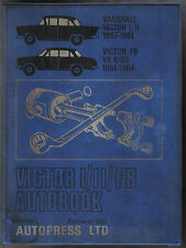 Vauxhall Victor I II FB VX 4/90 Bedford CA Autobook Workshop Manual 1957-64