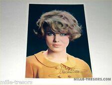 Carte photo Grand Format  Michèle TORR avec autographe offert par CALTEX