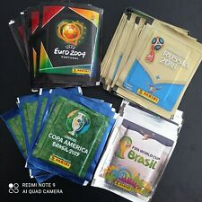 200 PACKS including Euro 2004 Copa America 2019 World Cup 2014 and 2018 Panini