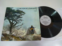 "Joan Baez Lo Mejor de Baez 1965 Vanguard Spain Edit - LP Vinyl 12 "" VG/VG"