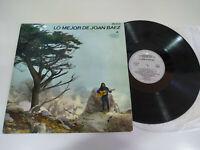 "Joan Baez Lo Mejor de Baez 1965 Vanguard Spain Edit - LP Vinyl 12 "" VG/VG"