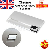 Chrome Inner Storage Box Glove Box Handle Cover Trim For Ford Focus 2005-2013 UK