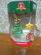 Looney Tunes-Tweety Bird With Fishing Pole & Star for the Tree Ornament-NIB