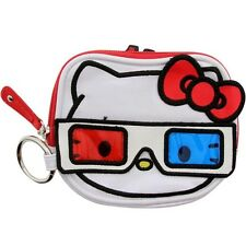 $17 Hello Kitty 3D Coin Bag (white / red / blue)