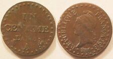 1 Centime Dupré An 6 (1797-1798) A, 36/36, TTB!!