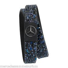 """Mercedes Benz Original Bracelet Pour Femme """"Black Edition"""" Bleu/noir"""