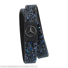 "Mercedes Benz Original Damen Armband ""Black Edition"" Blauschwarz Neu OVP"