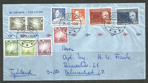 *OSBURGH - GREENLAND. 1966. AIR MAIL COVER. GOOTHAB TO DELMENHORST.