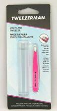 Tweezerman Mini Slant Tweezer - Pink - NEW
