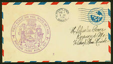 1931 FIRST FLIGHT AIR MAIL ROUTE AM 1 - PORTLAND, ME - UC2 POSTAL (ESP#1489)