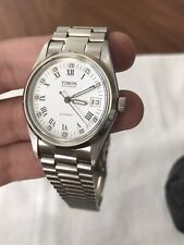NWT NOS $795 Swiss Made Automatic Tim Watch Oyster Datejust Old Stock!