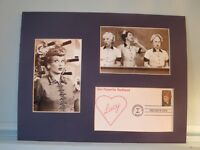 I Love Lucy & First Day Cover of Lucille Ball Stamp