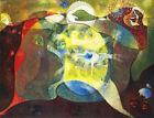 MAX ERNST La palette (1953) (60x46cm), CANVAS, POSTER FREE P&P
