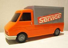 Rda kunststoffauto, plastikauto, pick up, Fiat 242, M 1:25, piko, made in GDR
