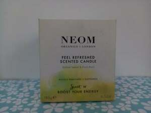 NEOM feel refreshed SCENTED CANDLE boost your energy 185g