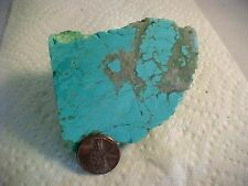 Turquoise Rough 4.6 oz Number 8 Mine Gorgeous Turquoise Rough 130 grams