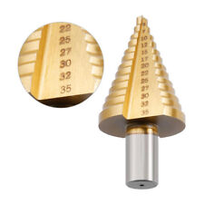 1pc 5-35MM HSS Fraise Foret Forage à Étage Conique HSS Drill Bit Perçage