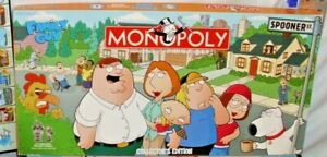 FAMILY GUY MONOPOLY GAME COLLECTOR EDITION COMPLETE BOXED