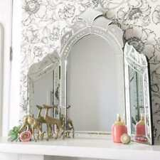 NW0103 Venetian Mirror Vanity Dressing Table Boudiour Chic