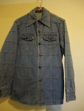 Vintage Denim Button Up Top Jean Jacket 70's Retro Jcpenney Designer Collection