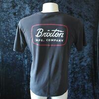 BRIXTON MFG COMPANY Motorcycles Mens T-shirt - BLACK Size M